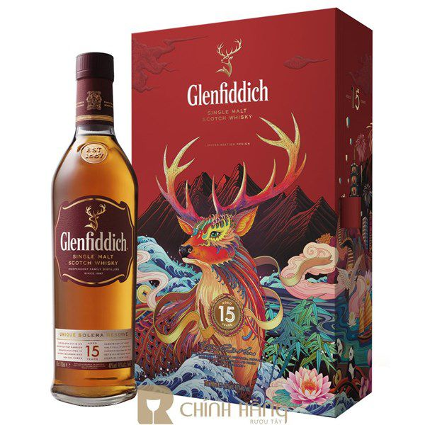 Glenfiddich 15 Năm - Hộp Quà Tết 2020
