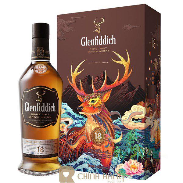 Glenfiddich 18 Năm - Hộp Quà Tết 2020