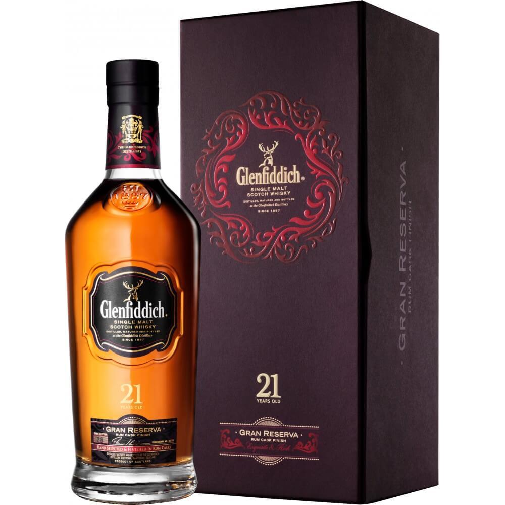 Glenfiddich 21 Năm Mẫu Cũ 700 ml