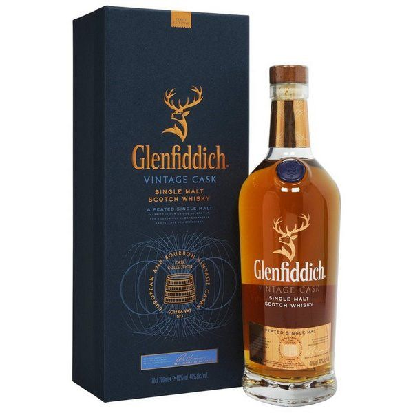 Glenfiddich Cask Collection Vintage Cask 700 ml - hình mô tả 2