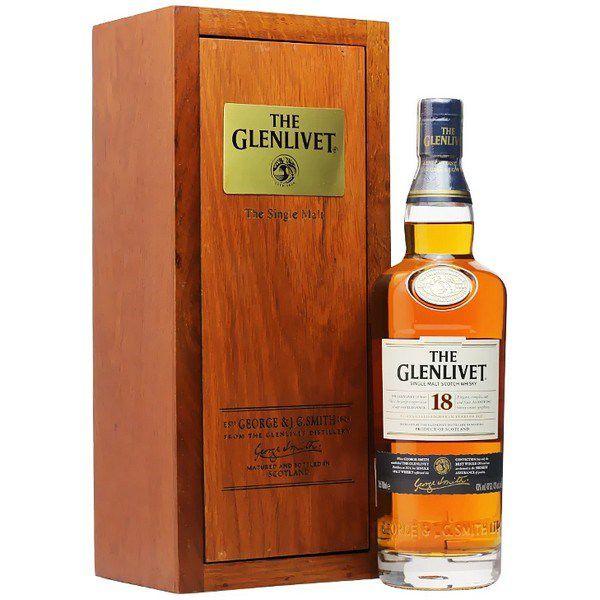 Glenlivet 18 Năm Hộp Gỗ