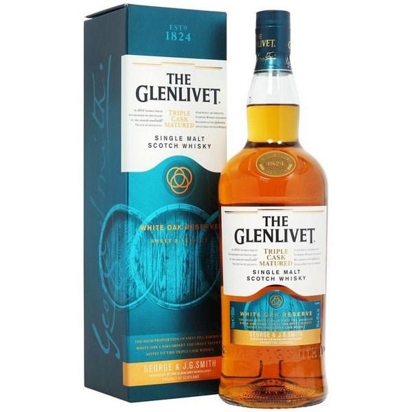 Glenlivet Triple Cask Matured - White Oak Reserve 1000 ml