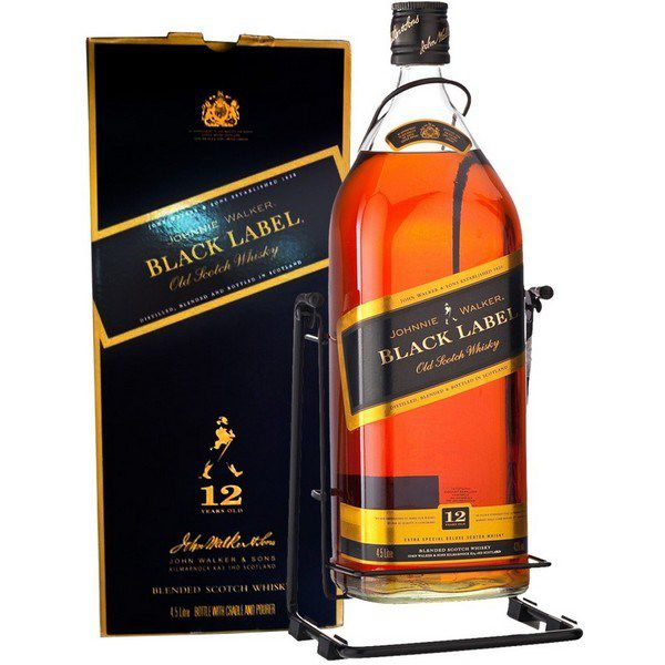 Rượu Johnnie Walker Black Label Cradle
