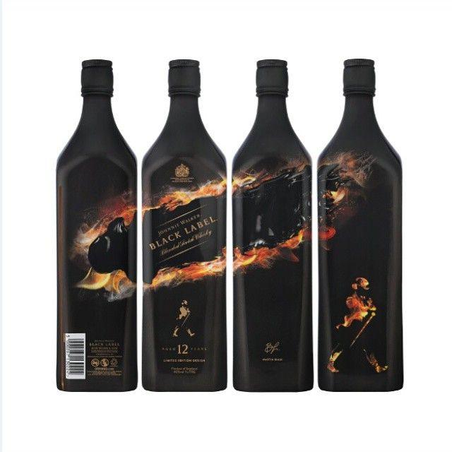 Rượu Johnnie Walker Black Label Limited Shadow Edition
