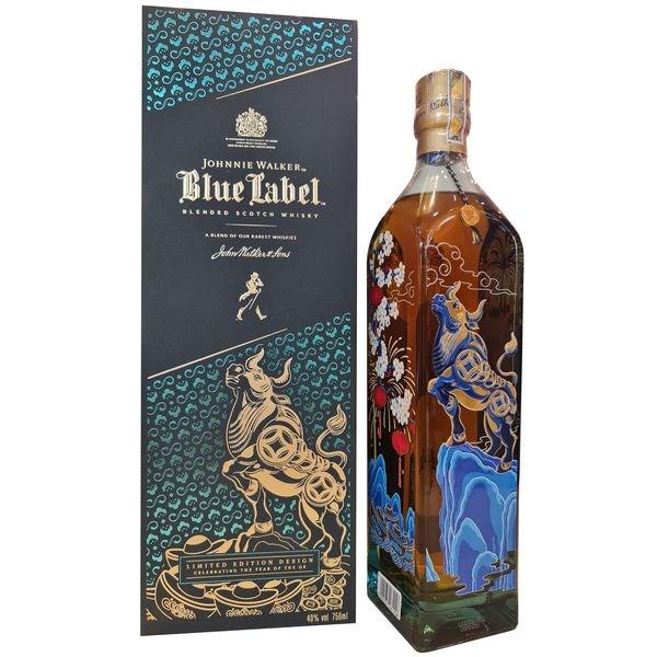 Johnnie Walker Blue Label Year of Ox - Tết Tân Sửu 2021