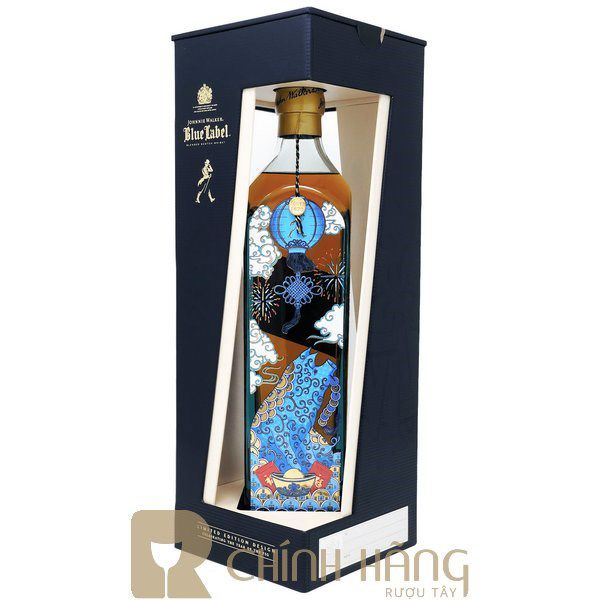 Johnnie Walker Blue Year Of Pig con Heo F19