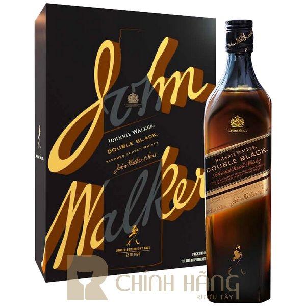 Johnnie Walker Double Black Label - Hộp Quà Tết 2022
