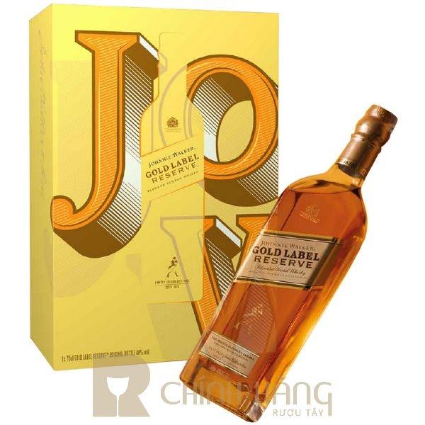 Johnnie Walker Gold Label - Hộp Quà Tết 2022