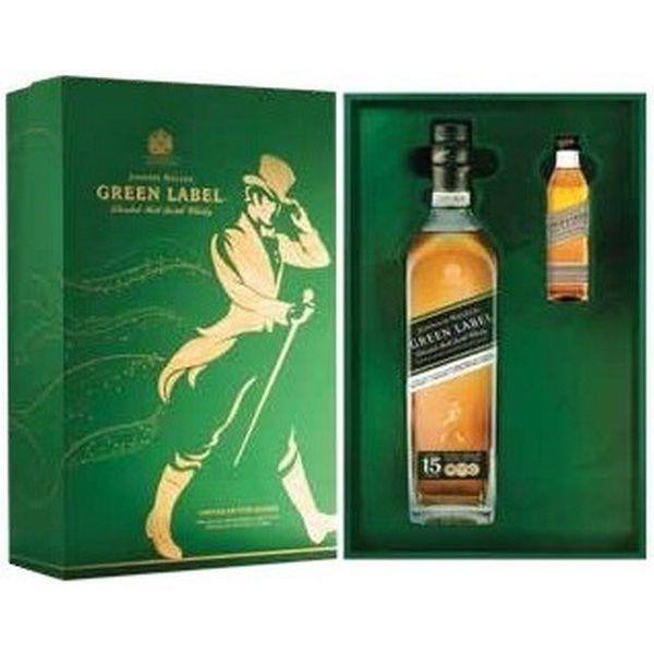 Johnnie Walker Green Label - Hộp Quà Tết