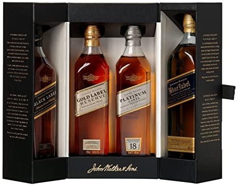 Johnnie Walker Multi collection bộ sưu tập 4 chai