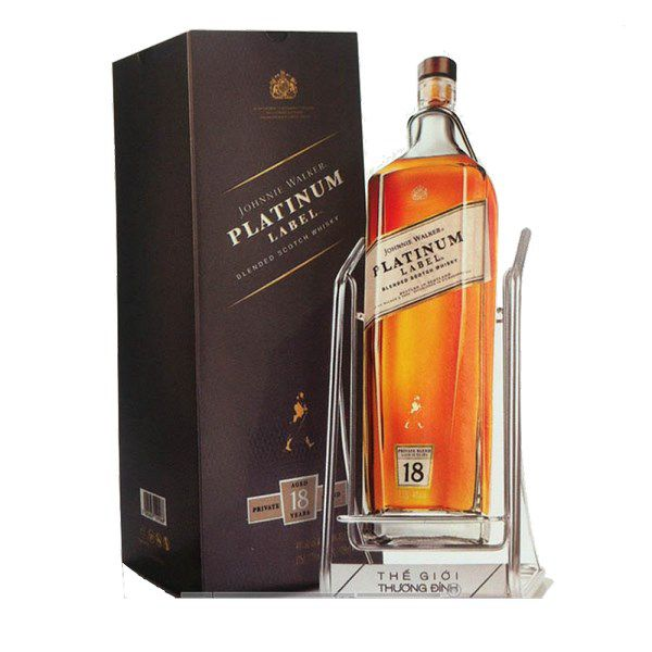 Johnnie Walker Platinum 18Y 1750ml Cradle