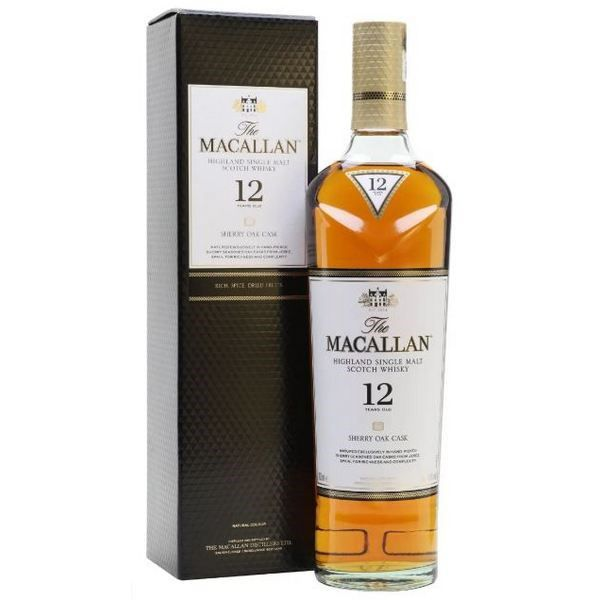 Macallan 12 Năm Sherry Oak