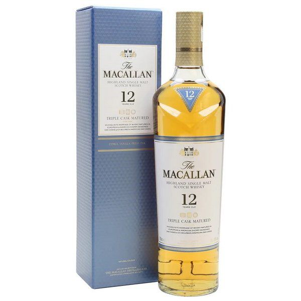 Macallan 12 Năm Triple Cask