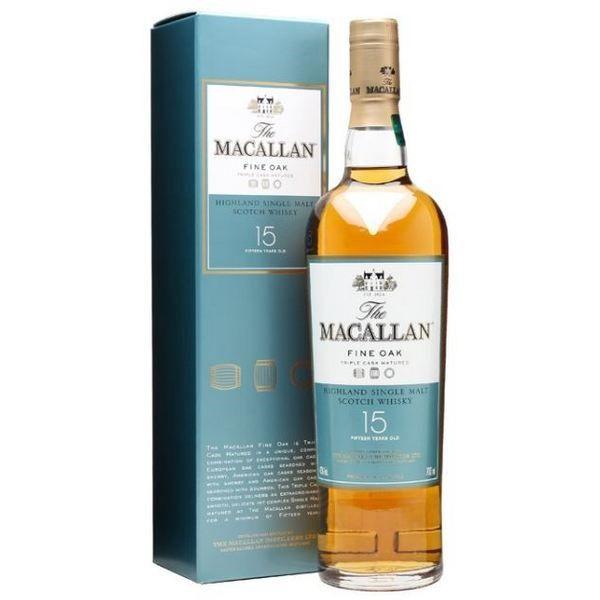 Rượu Macallan Fine Oak 15 Năm
