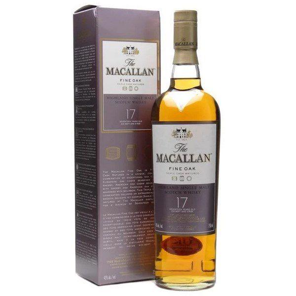 Rượu Macallan Fine Oak 17 Năm