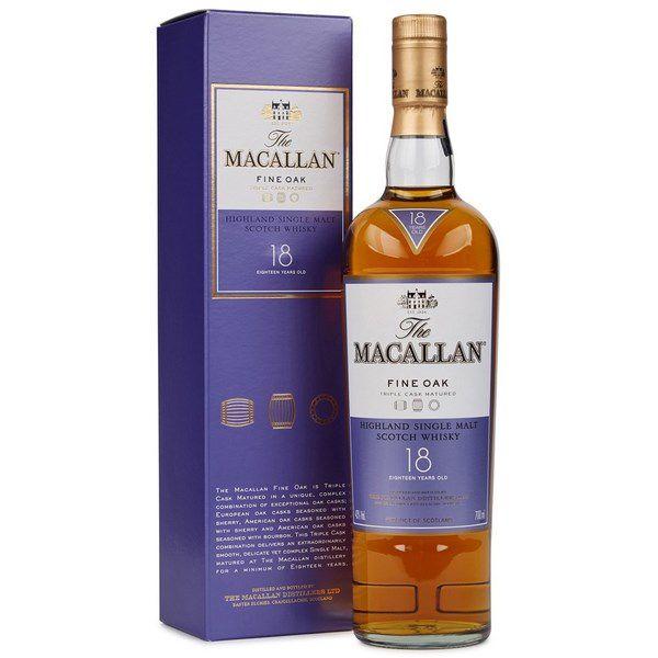 Rượu Macallan Fine Oak 18 Năm