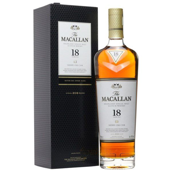 Macallan 18 Năm Sherry Oak