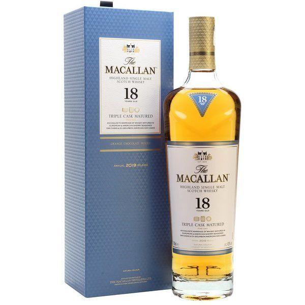 Rượu Macallan 18 năm Triple cask