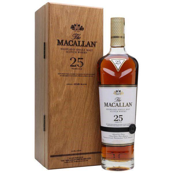 Rượu Macallan 25 Năm Sherry Oak