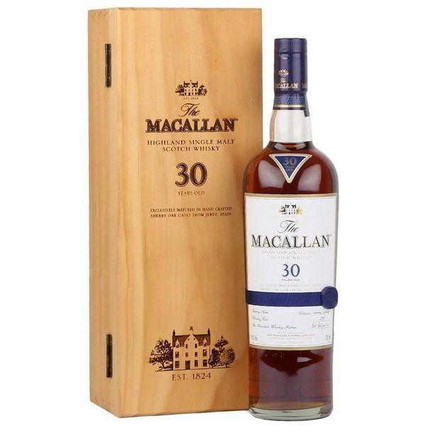 Macallan 30 Năm Sherry Oak 700 ml