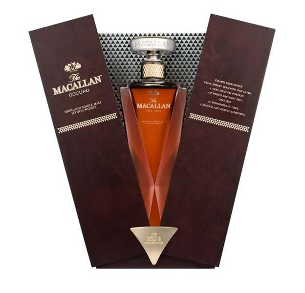 Macallan Oscuro mở hộp