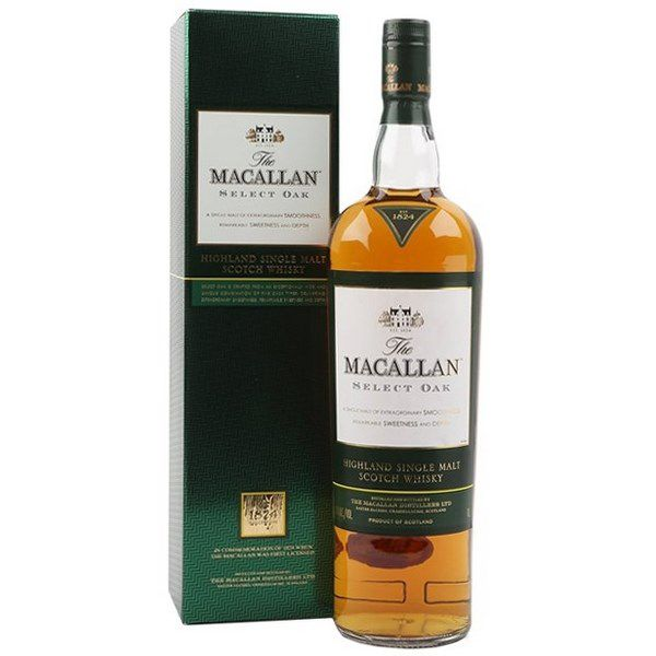 Macallan 1824 Select Oak Xanh