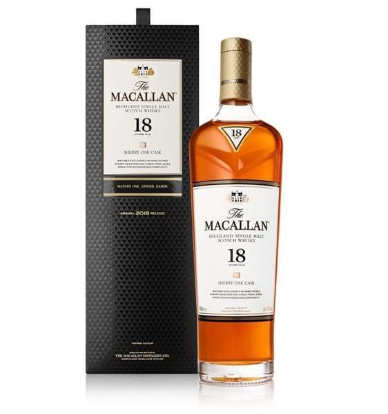 Macallan 18 năm sherry oak
