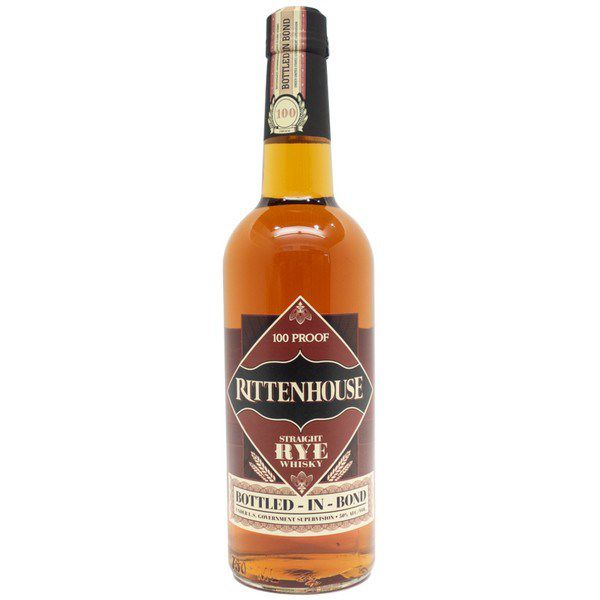 Rittenhouse Staight Rye Whiskey