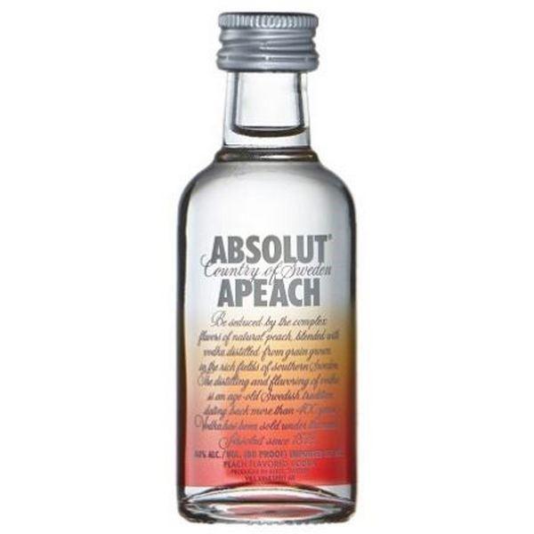 Rượu mini Absolut APeach 50ml (Đào)