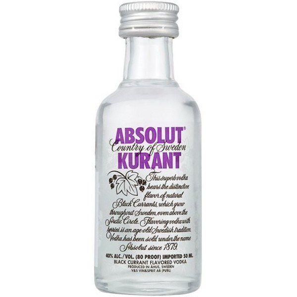 Rượu mini Absolut Kurant 50ml (Nho)