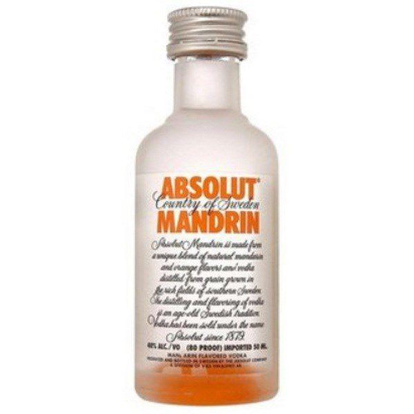 Rượu mini Absolut Mandrin 50ml (Cam) 50 ml