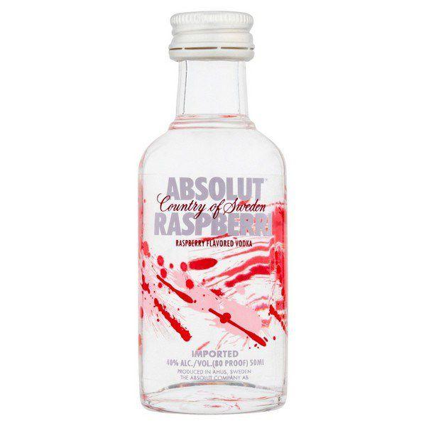 Rượu mini Absolut Raspberri 50ml (Dâu)