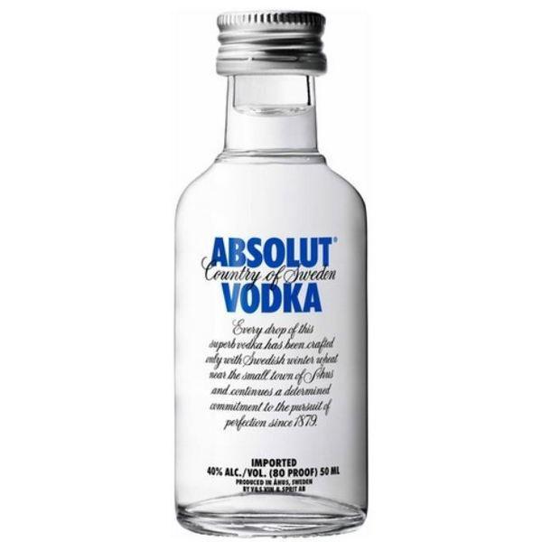 Rượu mini Absolut Vodka 50ml