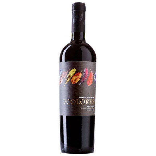 Rượu vang đỏ 7 Colores Red Blend Reserva de Familia