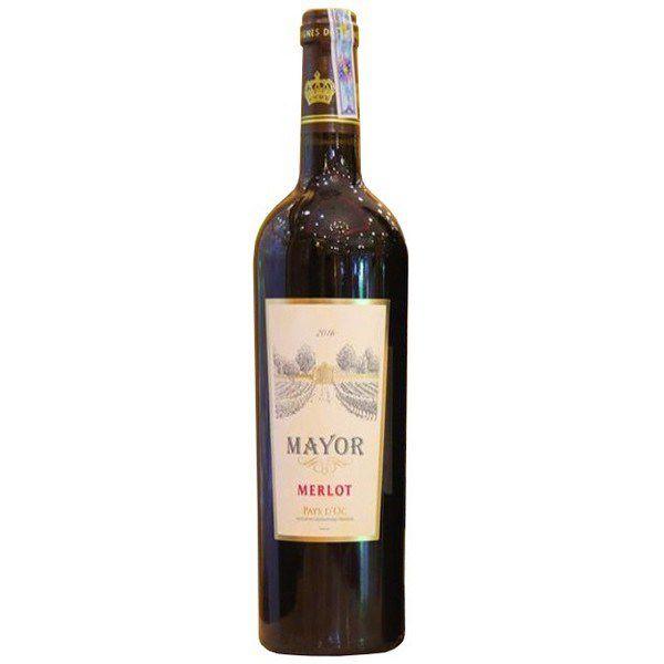 Rượu vang đỏ Mayor Merlot