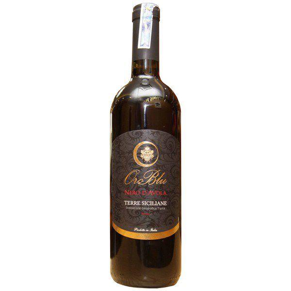 Rượu vang đỏ Oro Blu Nero D'Avola Terre Siciliane