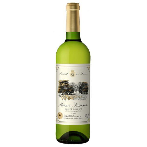 Rượu Vang Maison Trắng Francaise Comte Tolosan750ml