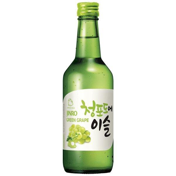 Soju Jinro Green Grape (Nho)