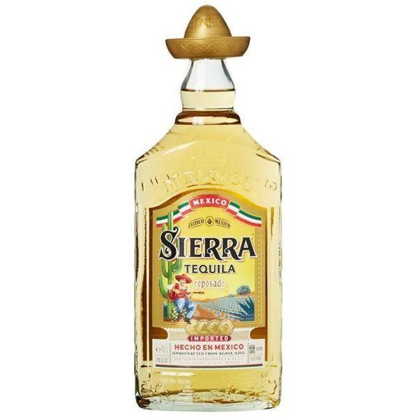 Tequila Sierra Reposado Hecho En Mexico
