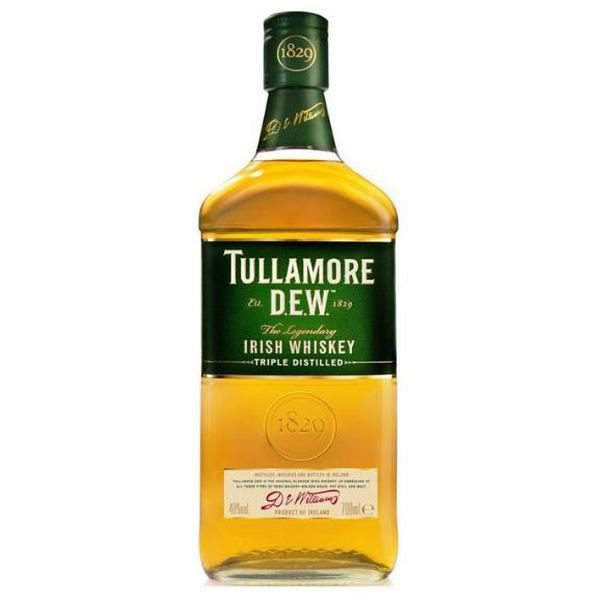 Tullamore D.E.W Irish Whiskey