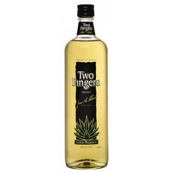 Two Fingers Gold Tequila 750 ml