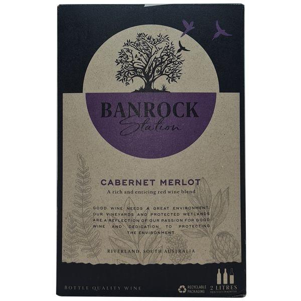Vang bịch Banrock Station Cabernet Merlot 2L (Úc)