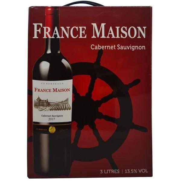 Vang bịch France Maison Cabernet Sauvignon 3L (Pháp)