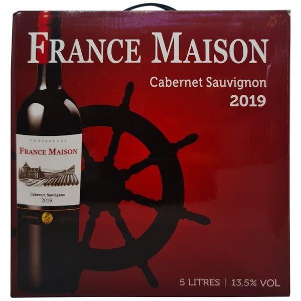 Vang bịch France Maison Cabernet Sauvignon 5L (Pháp) 5000 ml