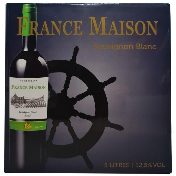 Vang bịch France Maison Sauvignon Blanc 5L (Pháp) 5000 ml