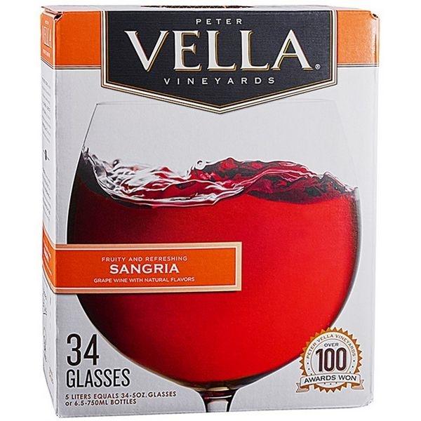 Vang bịch Peter Vella Sangria 5L (Mỹ)