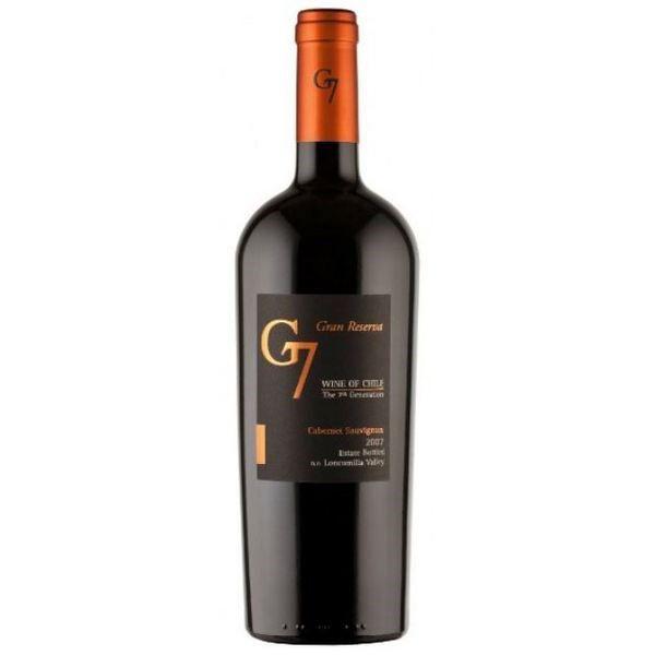Vang G7 Đỏ đặc biệt Gran Reserva Cabernet Sauvignon 750 ml