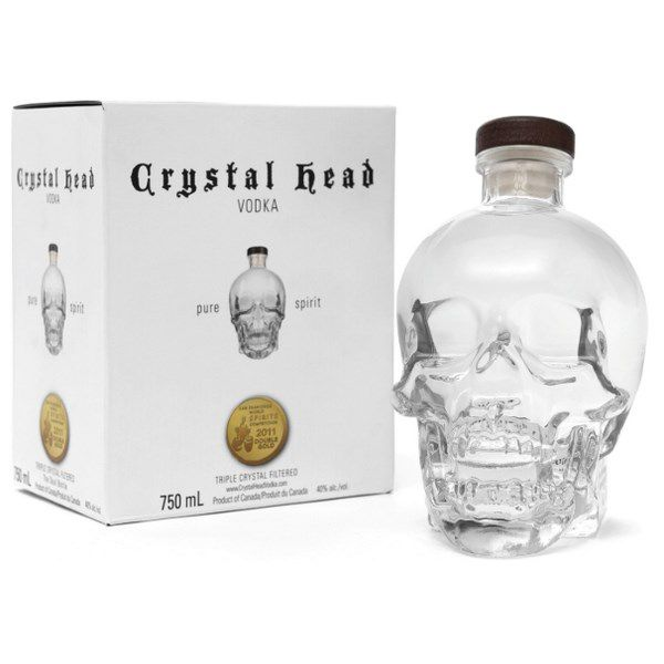 Vodka Crystal Head Đầu Lâu 1750ml